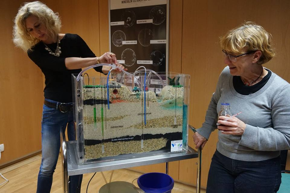 Ground water model demo in Ljubjana