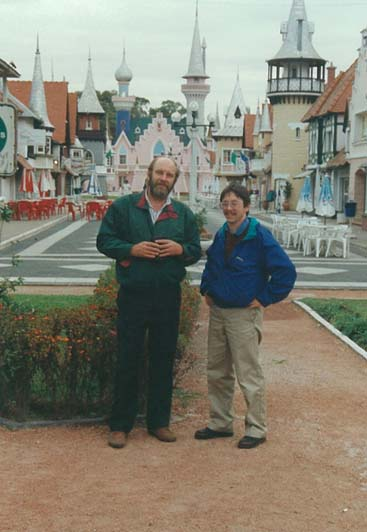 Miguel Gariboglio and Stuart Smith 1994 La Plata