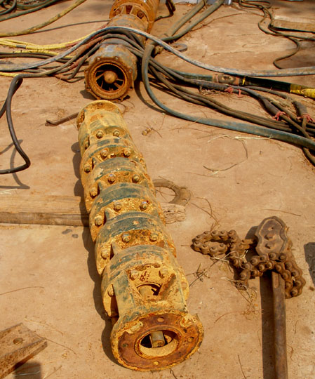 corroded pumps